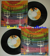 LP 45 7'' LEFEVRE Interpreta TOM JONES la nostra favola italy RIVIERA cd mc dvd