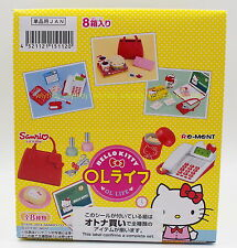 Minitures Sanrio Hello Kitty OL Life Box Set - Re-ment  ...h#7