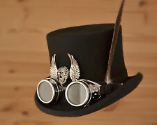 STEAMPUNK TOP HAT SIZE MEDIUM OR 57CMS