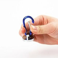 N35 STRONG 35LB pull Force Neodymium Magnet with Carabiner Hook