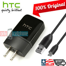 Original HTC Charger Rapid 1.5A Premium Home Wall Fast Charger & Data Sync Cable