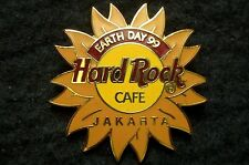 HRC Hard Rock Cafe Jakarta Earth Day 1999 Sun Logo LE500
