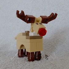 *! Genuine New Lego Reindeer Rudolph Split From Set 10245 !!  Free Shipping !!