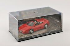 Modelcar DieCast 1/43 Diorama Ferrari F355 GTS red James Bond 007 Goldeneye