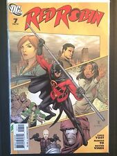 "Red Robin  (2010) #7 ""Council of Spiders Part 1 White Ghost Goliath"" Ra's al Ghu"