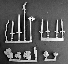 Crusader Weapons Reaper Miniatures Warlord RPG Conversion Shields Swords Bow