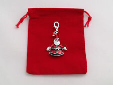 Santa Clip on Charm in Red Gift Bag by www.libbysmarketplace.com - FREE P&P