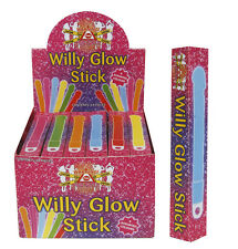 LADIES WOMENS HEN PARTY NIGHT WILLY GLOW STICK FANCY DRESS ACCESSORY