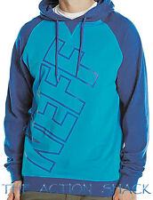 J1417 • Neff Corporate Hoodie * NWT Mens Size Large Blue / Teal - #26799