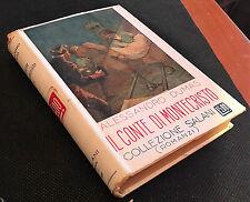 COLLEZIONE SALANI ( ROMANZI) A.DUMAS IL CONTE DI MONTECRISTO N°107 V.I 12/07/16