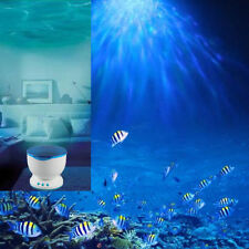 Ocean Sea Daren Waves LED Night Light Projector Romantic Relaxing Lamp Speaker D