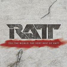 Tell The World: The Very Best Of Ratt (CD, Aug-2007, Rhino (Label))