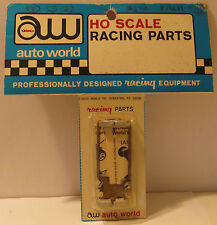 Auto World Tracksticker Pan for Standard AFX, 1974 MOC with Header Card