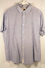 Penguin Mens 2XL Button Front Shirt Heritage Slim Fit Short Sleeve 6