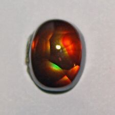 Fire Agate Gem AAA Quality from Slaughter Mountain Arizona  1.8 ct.