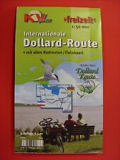 KV Freizeitkarte Internationale Dollard-Route. NEU.