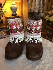 Boot Cuffs, Boot covers, Boho, Gypsy, Indian, Festival. Boots Not Included.
