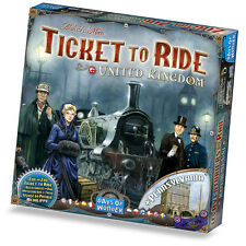 Ticket to Ride United Kingdom + Pennsylvania Map Collection Vol. 5 - Exp, New!