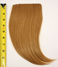 10'' Long Clip on Bangs Hazelnut Brown Cosplay Wig Hair Extension Accessory NEW