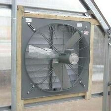 "36"" Exhaust Fan with Louver Shutter - 115/230V - 1/2 HP - 6.0/3.0 Amps Commercia"