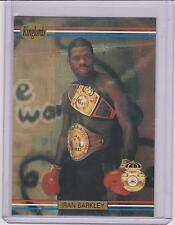 "(50) 1991 RINGLORDS IRAN ""THE BLADE"" BARKLEY BOXING CARDS #25 LOT ~ L@@K!!!"