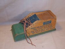 Vintage Wooden Lacing Shoe Old Woman Who Lived In A Shoe Game Toy Rare