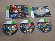 Xbox 360 Pal Game L.A. NOIRE with Box Instructions