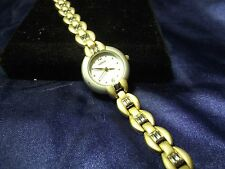 Woman Lorus Watch with Brushed Gold Band **Nice** B48-998
