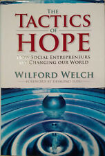Wilford Welch with David Hopkins~TACTICS OF HOPE~SIGNED 1ST/DJ~NICE COPY