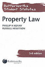 Hewitson, Russell, Kenny, Phillip H. Property Law (Butterworths Student Statutes