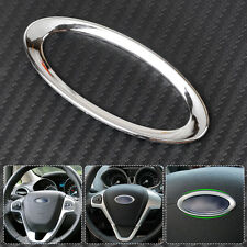 Steering Wheel Center Decoration Ring Cover Trim For Ford Focus Fiesta Ecosport