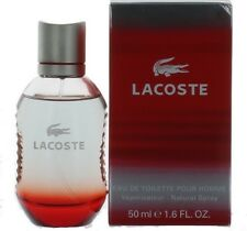 Style in Play RED by Lacoste for Men EDT Cologne Spray 1.6 oz. New in Box