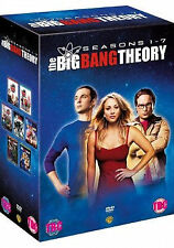 The Big Bang Theory - Season 1-7 [DVD] DVD***NEW***