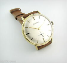 Vintage Watch...CORTEBERT....In House...15 Jewels....Gold Plated.....Nice!!
