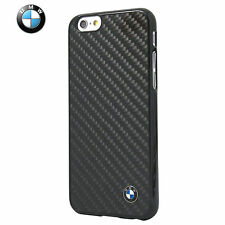 BMW Real Carbon Fiber Hard Case for iPhone 6/6S Plus Black (BMHCP6LMBC)