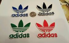 "4 - ADIDAS PATCH LOT  Logo PATCH embroidered iron on Patches patch 2.1"" x 2.1 A1"