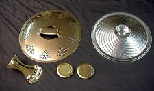 GOLD BISCUIT RESONATOR KIT FOR GUITAR
