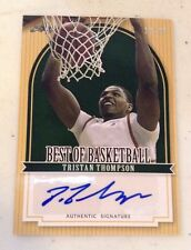 Tristan Thompson 2012 Leaf Best of Basketball Autographed Auto Card /25 Sp