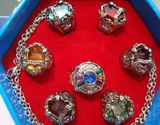 Anime Katekyo Hitman Reborn Vongola Ring 7 PCS Necklace