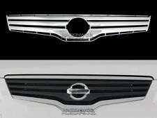 fits 07-09 Nissan Altima CHROME Snap On Grille Front Trim Insert Overlay 4 Door