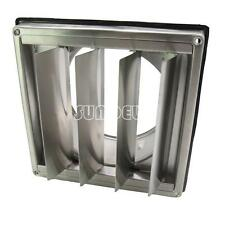 "Stainless Steel Square Air Vent Grill 125 mm 5"" - Extractor - Wall Vent Gravity"