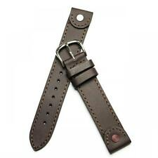 Swiss Army Victorinox 21120 Brand New Cavalry Brown Leather 24234 Watch Band