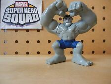 Marvel Super Hero Squad RARE GRAY HULK Grey