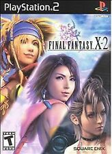 Final Fantasy X-2  (Sony PlayStation 2, 2003) Complete, CIB