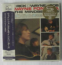 WAYNE FONTANA & THE MINDBENDERS - Eric Rick Wayne & Bob JAPAN SHM MINI LP CD NEU