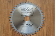 200mm PRO TCT CIRCULAR SAW BLADE FOR WOOD - 40 TEETH (30,25,18 & 16mm Bore)