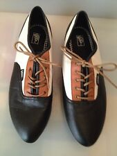 Women's Vans Sophie Oxford Leather Shoes Size 8