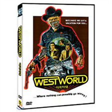 Westworld (1973) Michael Crichton, Yul Brynner / DVD, NEW