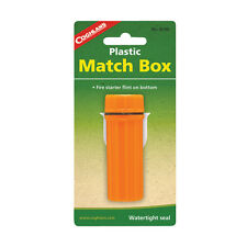 Coghlan's Plastic Match Box - emergency disaster outdoor survival camping NEW