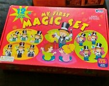 MY FIRST MAGIC SET Cadaco Magic Tricks Kit AGES 4 AND UP 1999 Learn 12 TRICKS